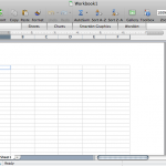 Microsoft Excel 2008 Interface